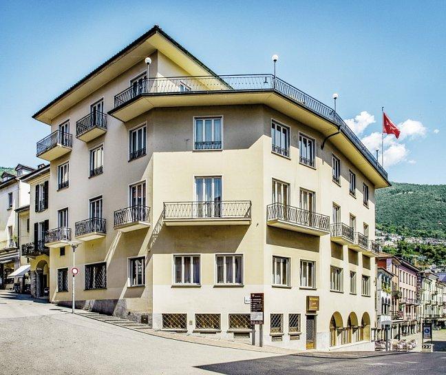Hotel Dell'Angelo, Schweiz, Tessin, Locarno, Bild 1