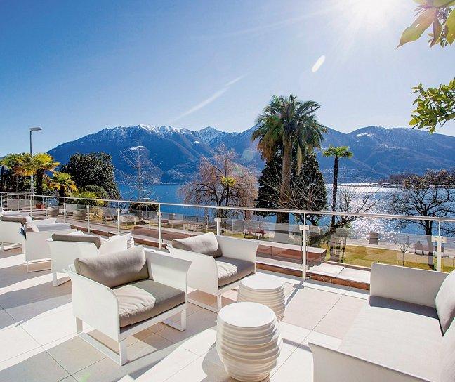 La Palma au Lac Hotel & Spa, Schweiz, Tessin, Muralto, Bild 1
