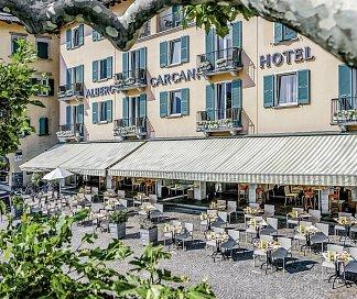 Hotel Albergo Carcani, Schweiz, Kanton Tessin, Ascona, Bild 1