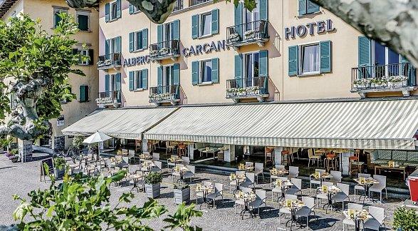 Hotel Albergo Carcani, Schweiz, Tessin, Ascona, Bild 1