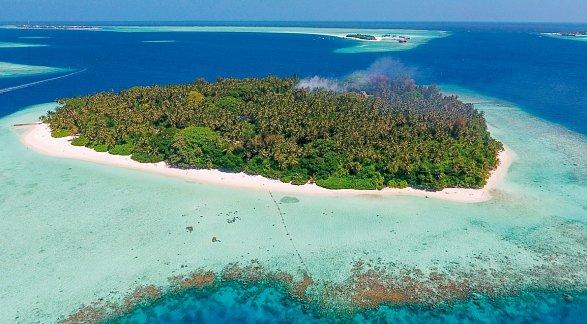 Hotel Biyadhoo Island Resort, Malediven, Süd Male Atoll, Bild 1