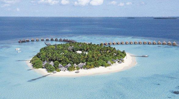 Hotel Thulhagiri Island Resort, Malediven, Nord Male Atoll, Bild 1
