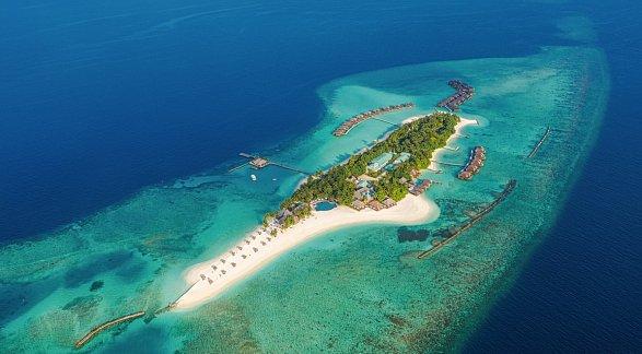 Hotel Veligandu Island Resort & Spa, Malediven, Rasdhu Atoll, Bild 1
