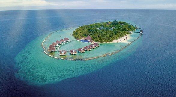 Hotel Ellaidhoo Maldives by Cinnamon, Malediven, Nord Ari Atoll, Bild 1