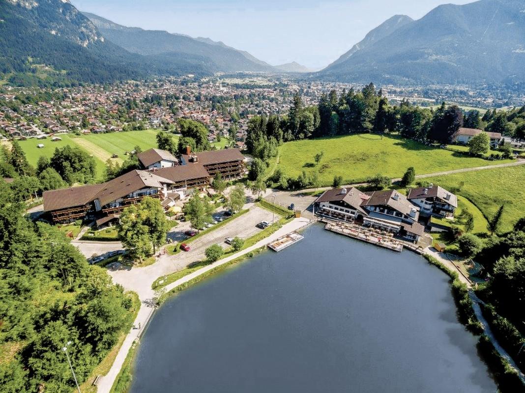 Riessersee Hotel Resort, Deutschland, Bayern, Garmisch-Partenkirchen