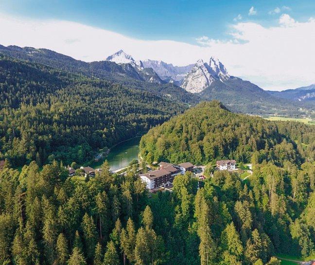 Riessersee Hotel, Deutschland, Bayern, Garmisch-Partenkirchen, Bild 1
