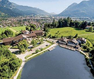 Riessersee Hotel Resort, Deutschland, Bayern, Garmisch-Partenkirchen, Bild 1