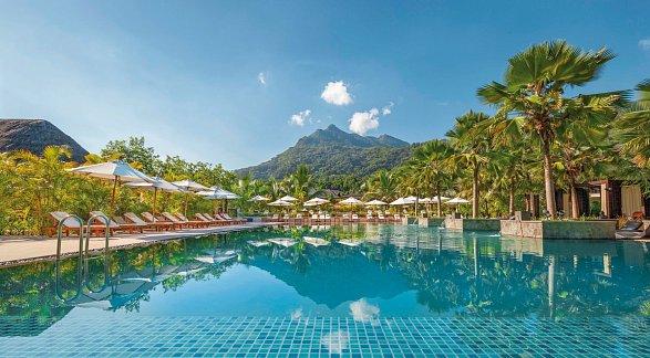 Hotel The H Resort Beau Vallon Beach, Seychellen, Insel Mahé: Beau Vallon, Bild 1