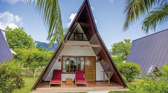 Hotel La Digue Island Lodge, Seychellen, Insel la Digue: Anse la Réunion, Bild 1