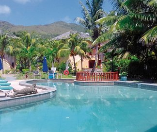 Castello Beach Hotel, Seychellen, Insel Praslin: Anse Kerlan, Bild 1