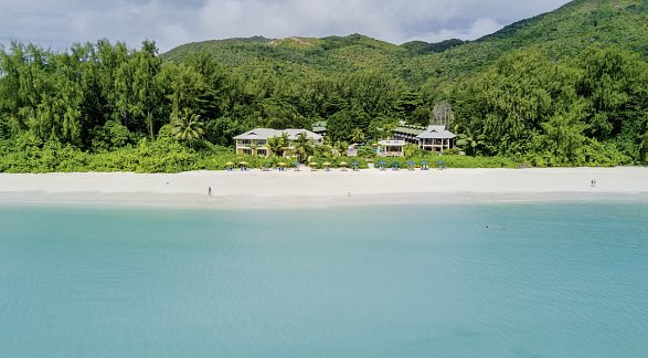 Hotel Acajou Beach Resort, Seychellen, Insel Praslin: Côte d'Or, Bild 1