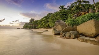 Hotel Coco de Mer & Black Parrot Suites, Seychellen, Insel Praslin: Anse Bois de Rose