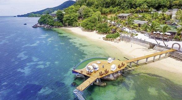 Hotel Coco de Mer & Black Parrot Suites, Seychellen, Insel Praslin: Anse Bois de Rose, Bild 1