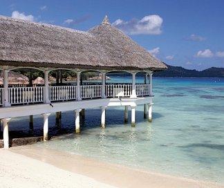 Hotel Le Domaine de La Réserve, Seychellen, Insel Praslin: Anse Petite Cour, Bild 1