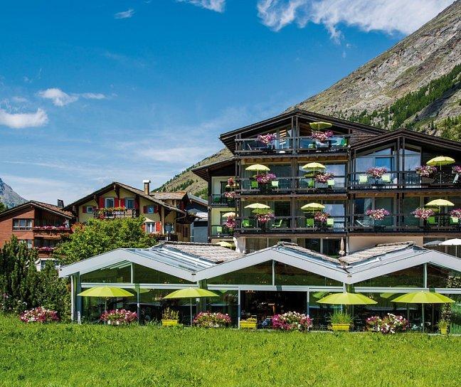 Hotel Wellness & Spa Pirmin Zurbriggen, Schweiz, Wallis, Saas-Almagell, Bild 1