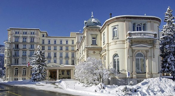 Hotel Reine Victoria, Schweiz, Graubünden, St. Moritz, Bild 1