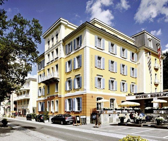 Hotel Edelweiss, Schweiz, Graubünden, Sils-Maria, Bild 1