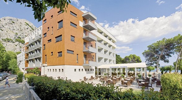 Hotel Plaža Omiš, Kroatien, Dalmatien, Omis, Bild 1