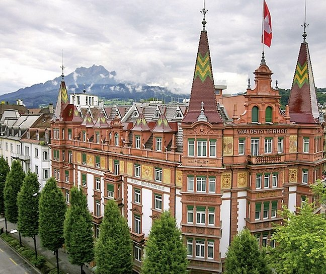 Hotel Waldstätterhof, Schweiz, Kanton Luzern, Luzern, Bild 1