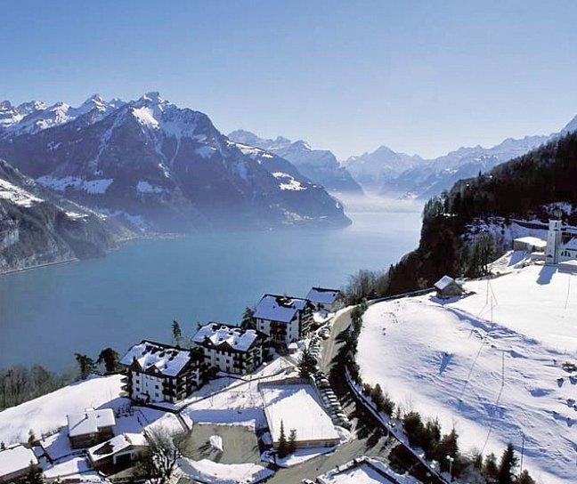 Hotel Bellevue, Schweiz, Vierwaldstättersee & Umgebung, Seelisberg, Bild 1
