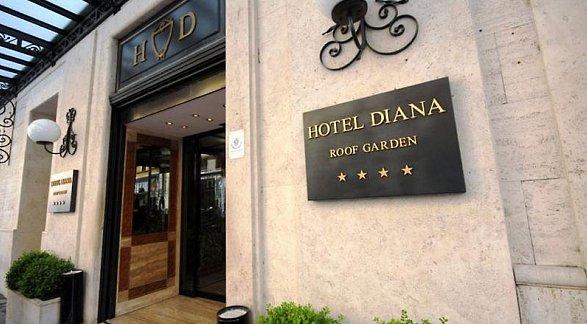 Hotel Diana Roof Garden, Italien, Rom, Bild 1