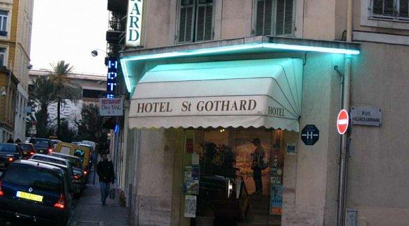 Hotel St. Gothard, Frankreich, Côte d'Azur, Nizza, Bild 1